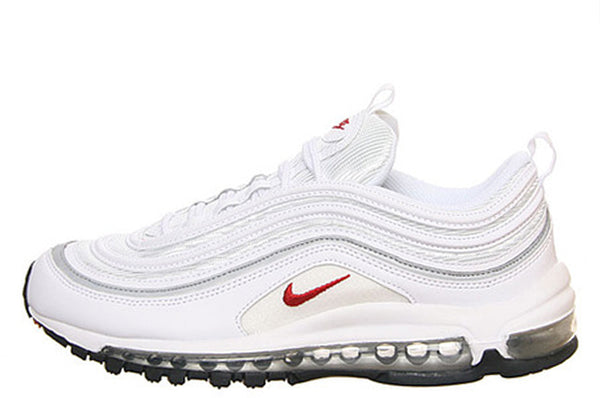 Nike Air Max 97 W White/Sport-Red-Metallic 2009