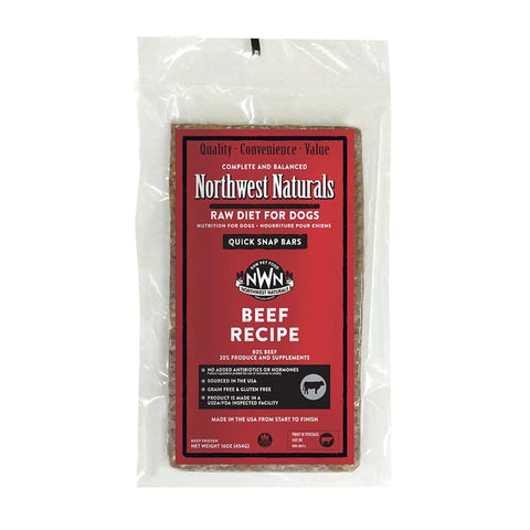 <b>Northwest Naturals</b><br>Raw Beef Recipe Dog<br><br>1lb - 6lb