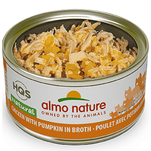 <b>Almo Nature Natural</b><br>Chicken with Pumpkin in broth<br>70gr - 2.46oz