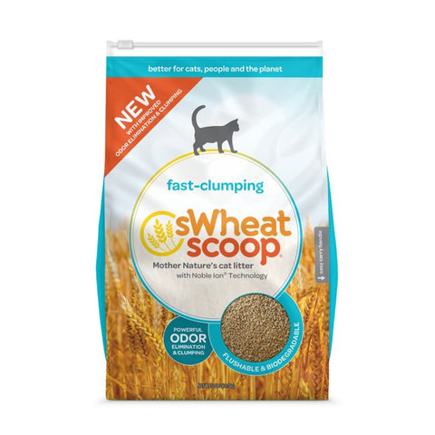 <b>sWheat Scoop</b><br>Fast Clumping<br><br>12lb - 36lb