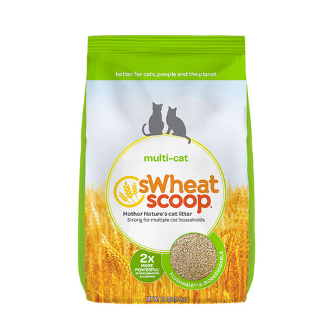 <b>sWheat Scoop</b><br>Fast Clumping Milti-Cat<br><br>12lb - 36lb
