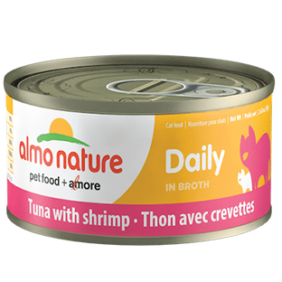 <b>Almo Nature Natural</b><br>Tuna with shrimp<br><br>70gr - 2.46oz