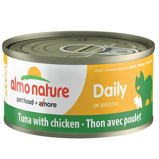 <b>Almo Nature Daily</b><br>Tuna with chicken<br><br>70gr - 2.46oz