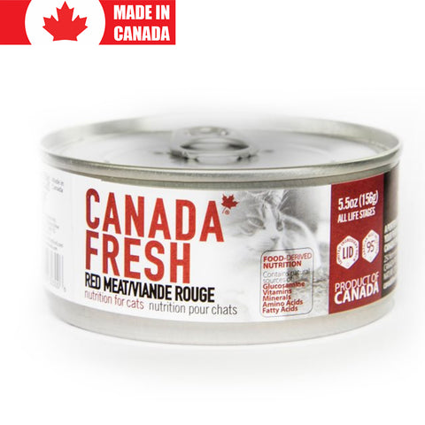 <b>Canada Fresh</b><br>Red Meat Formula Cat<br><br>5.5oz - 13oz