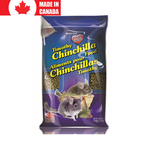 Timothy Chinchilla Food