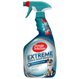 <b>Simple Solution</b><br>Extreme Stain & Odor Remover Spray<br>946 ml / 32 oz