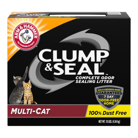 <b>Arm & Hammer™</b><br>Clump & Seal™ Multi-Cat<br><br>6.4kg - 9.1kg