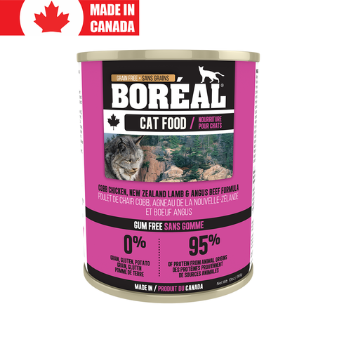 <b>Boreal</b><br>Cobb Chicken, NZ Lamb & Angus Beef<br>369g - 13oz