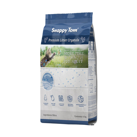 <b>Snappy Tom</b><br>Premium Litter Crystals<br><br>8.8lb - 4.4kg