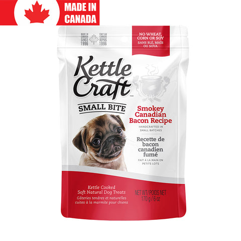 <b>Kettle Craft</b><br>Smokey Canadian Bacon<br><br>6oz - 12oz