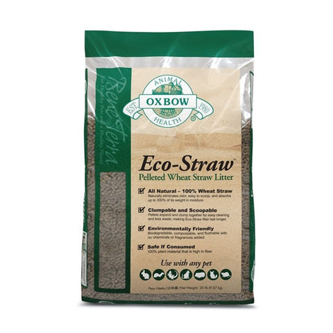<b>Oxbow</b><br>Eco-Straw Litter<br><br>0lb - 9.1kg