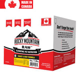 <b>Rocky Mountain Raw</b><br>Turkey/beef Formula<br>8lb - 16lb