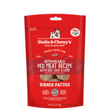 <b>Stella & Chewy's</b><br>Remarkable Red Meat FD Raw Dinner Patties<br>5.5oz - 14oz