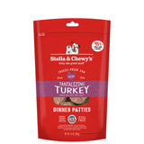 <b>Stella & Chewy's</b><br>Tantalizing Turkey Freeze-Dried Raw Dinner Patties<br>5.5oz - 14oz