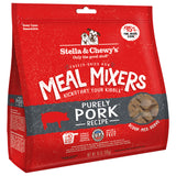 <b>Stella & Chewy's</b><br>Purely Pork Meal Mixers<br><br>3.5oz - 18oz