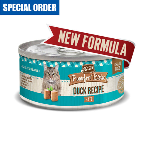 Purrfect Bistro Duck Pate