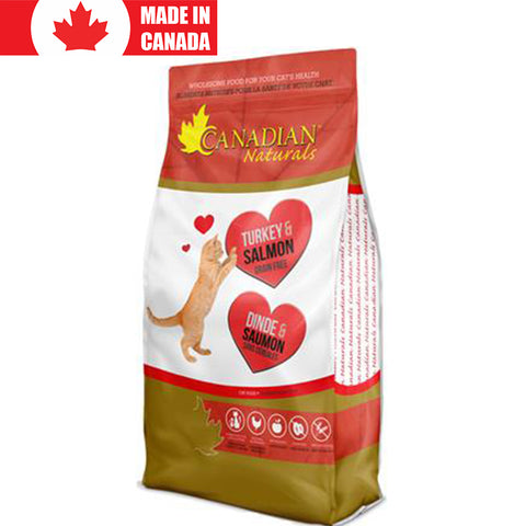 <b>Canadian Natural</b><br>Turkey & Salmon<br><br>3lb - 15lb
