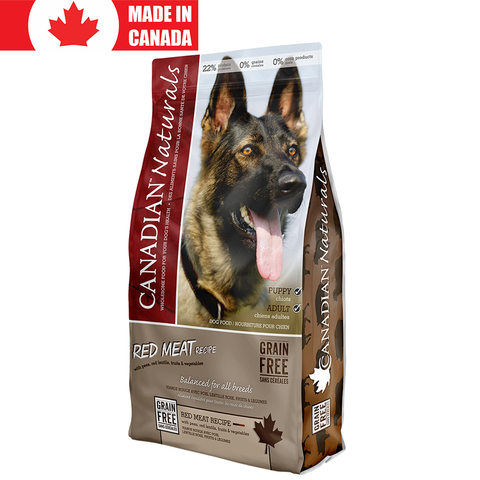 <b>Canadian Naturals</b><br>Red Meat Recipe<br><br>5lb - 25lb