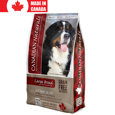 <b>Canadian Naturals</b><br>Large Breed Red Meat Recipe<br>28lb