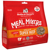 <b>Stella & Chewy's</b><br>Super Beef Meal Mixers<br><br>3.5oz - 18oz