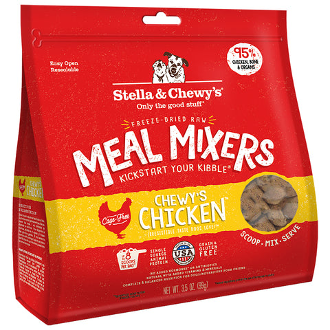 <b>Stella & Chewy's</b><br>Chicken Meal Mixers<br>3.5oz - 18oz