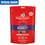 <b>Stella & Chewy's</b><br>Absolutely Rabbit Freeze-Dried Raw Dinner Patties<br>5.5oz - 25oz