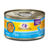 <b>Wellness</b><br>Complete Health™ Pâté Chicken & Herring<br>85g - 354g