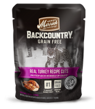 <b>Merrick</b><br>Backcountry Grain Free Real Turkey Recipe Cuts<br>85g - 3oz