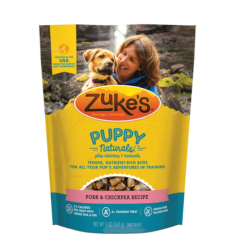 <b>Zuke's</b><br>Puppy Naturals® Pork & Chickpea Recipe<br>5oz/142g