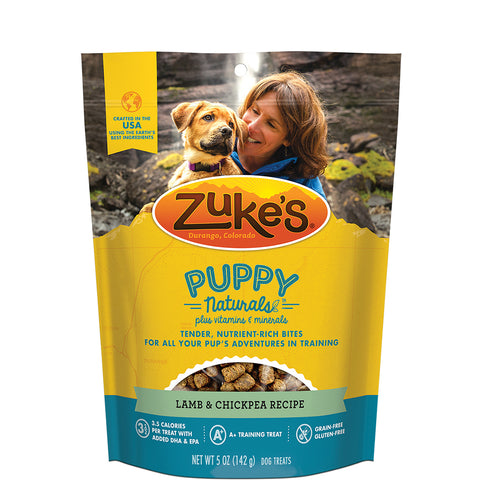<b>Zuke's</b><br>Puppy Naturals® Lamb & Chickpea Recipe<br>5oz/142g