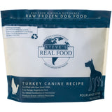 <b>Steve Real Food</b><br>Turkey Raw Diet<br><br>5lb - 13.5lb