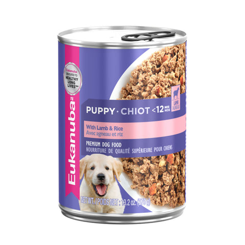 Puppy Lamb & Rice<br>12 cans<br>13.2oz - 374g