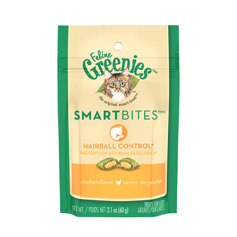 <b>Grennies</b><br>Smartbites™ Hairball Control Chicken<br>2.1oz - 60g