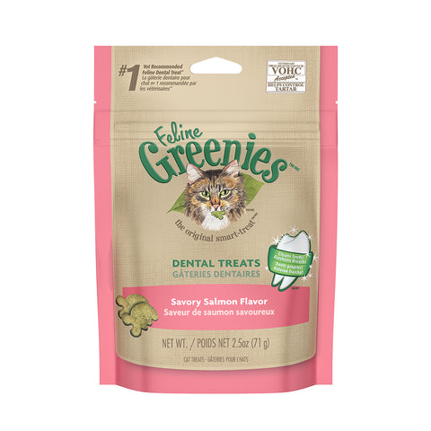 <b>Grennies</b><br>Dental Savory Salmon<br><br>2.1oz - 9.75oz