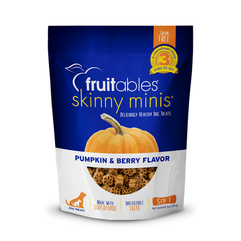 <b>Fruitables</b><br>Skinny Minis® Pumpkin & Berry<br>5oz - 142g