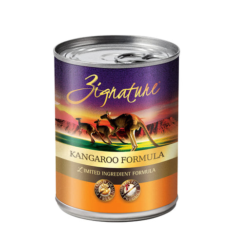 <b>Zignature</b><br>Kangaroo Formula Wet<br><br>13oz - 369g