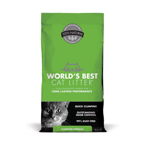 <b>World's Best</b><br>Clumping Formula<br><br>7lb - 28lb