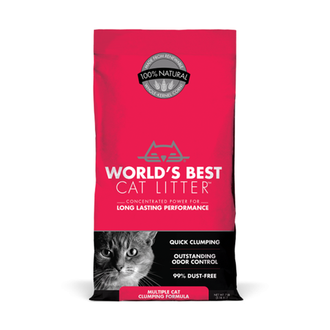 <b>World's Best</b><br>Multi Cat Clumping<br><br>7lb - 28lb