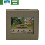 <b>Red Dog Blue Kat</b><br>Beef Complete For Cats<br><br>0.25lb - 2lb