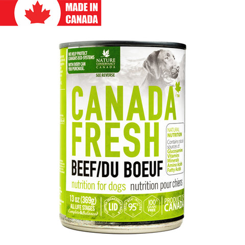 <b>Canada Fresh</b><br>Beef Formula Dog<br><br>13oz - 369g