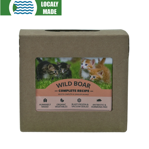 <b>Red Dog Blue Kat</b><br>Wild Boar Complete For Cats<br>0.25lb - 0.5lb
