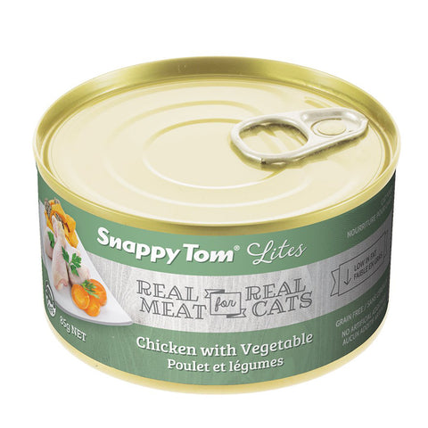 <b>Snappy Tom</b><br>Chicken with Vegtables<br><br>3.5 oz - 85gr