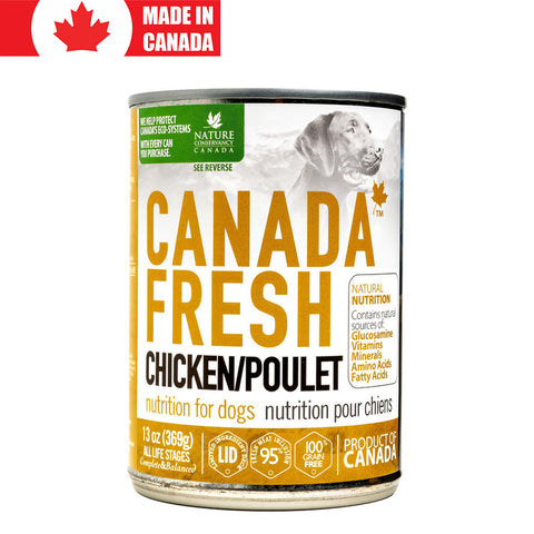 <b>Canada Fresh</b><br>Chicken Formula Dog<br><br>13oz - 369g