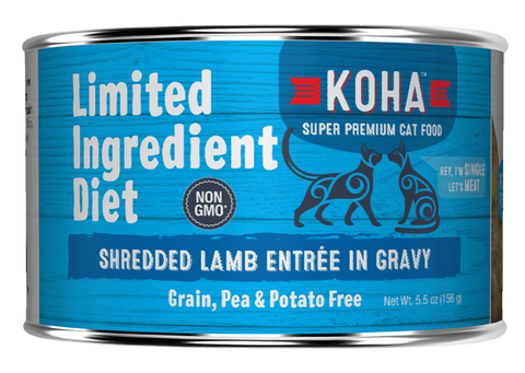 <b>Koha</b><br>Shredded Lamb Entrée in Gravy<br>5.5oz - 156g