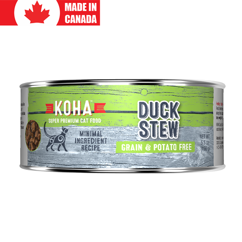 <b>Koha</b><br>Duck Stew<br><br>5.5oz - 156g