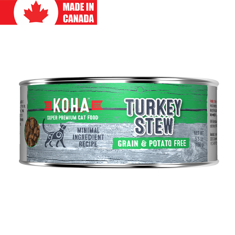 <b>Koha</b><br>Turkey Stew<br><br>5.5oz - 156g