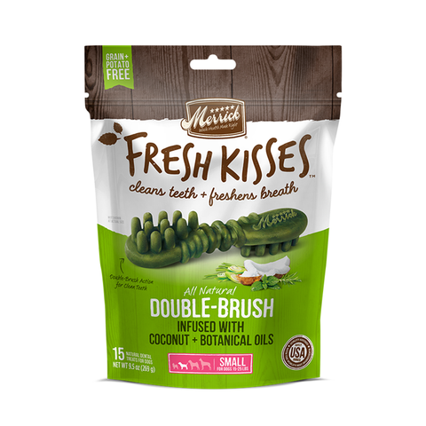 <b>Fresh Kisses</b><br> Coconut+Botanical Oil<br>Small Dogs (15-25 lbs)