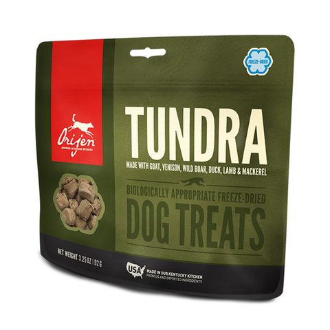 <b>Orijen</b><br>Tundra Dog<br><br>1.5oz - 3.25oz