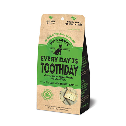 <b>Grandville Island Pet Treat</b><br>Pets Agree Every Day Is Toothday (Wheat Free)<br>1lb - 454g
