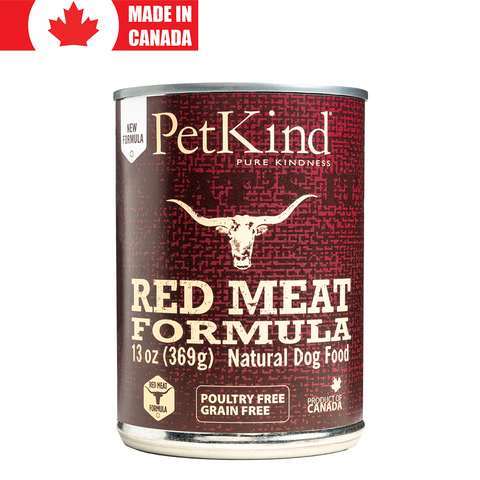 <b>PetKind</b><br>Red Meat Formula<br><br>13oz - 396g